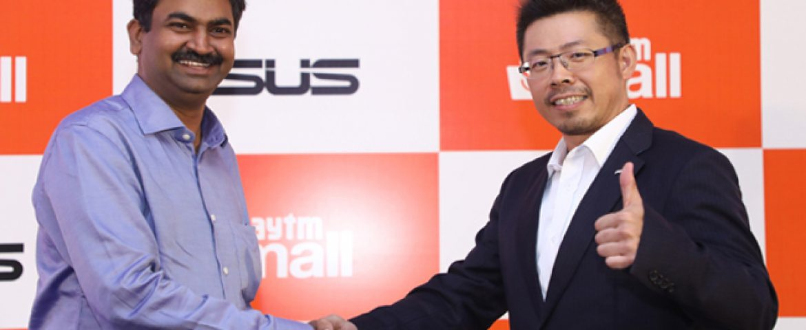 Paytm Mall Partners With Asus, Will Provide PoS Solution
