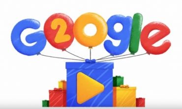 Google Celebrates its 20th Birthday with a Special Doodle