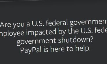 Shutdown Effect: PayPal Will Offer up to $500 Interest Free Credit for U.S. federal Employees
